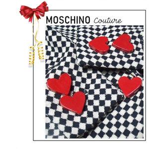 Moschino Playing Card Skirt Suit Hearts Diamond